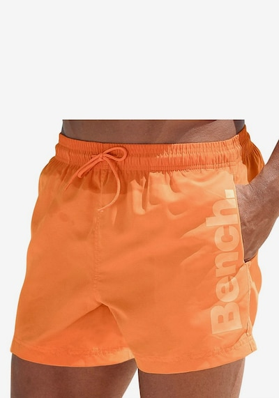 BENCH Badeshorts in orange, Produktansicht