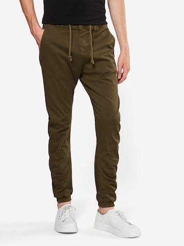 Urban Classics Püksid, värv roheline