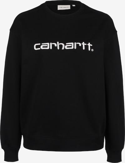 Carhartt WIP Sweatshirt ' W ' in de kleur Zwart, Productweergave