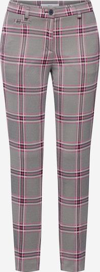BRAX Hose 'Sidney' in grau / pink / weiß, Produktansicht