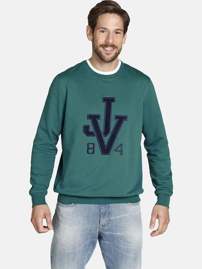 Jan Vanderstorm Sweat-shirt ' Tideman ' en pétrole: Vue de face
