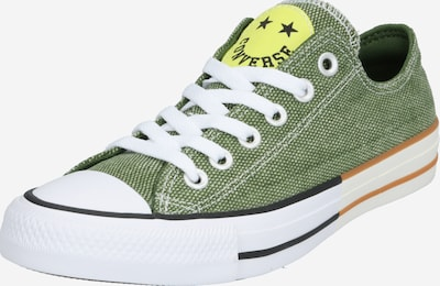 CONVERSE Sneaker 'CHUCK TAYLOR ALL STAR - OX' in gelb / oliv: Frontalansicht