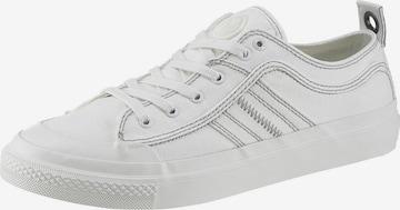 DIESEL Sneaker 'S-Astico low lace' in Weiß
