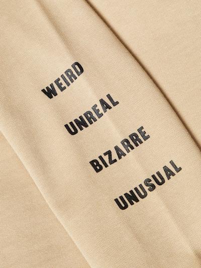 NAME IT Sweatshirt in beige: Frontalansicht