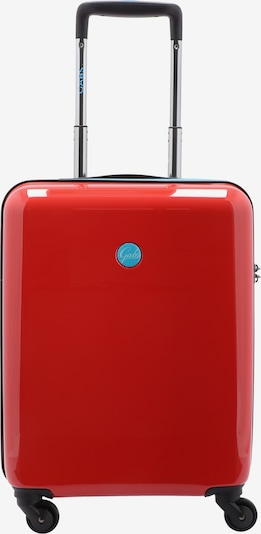 Gabs Kabinentrolley 'G Carry' in hellblau / rot, Produktansicht