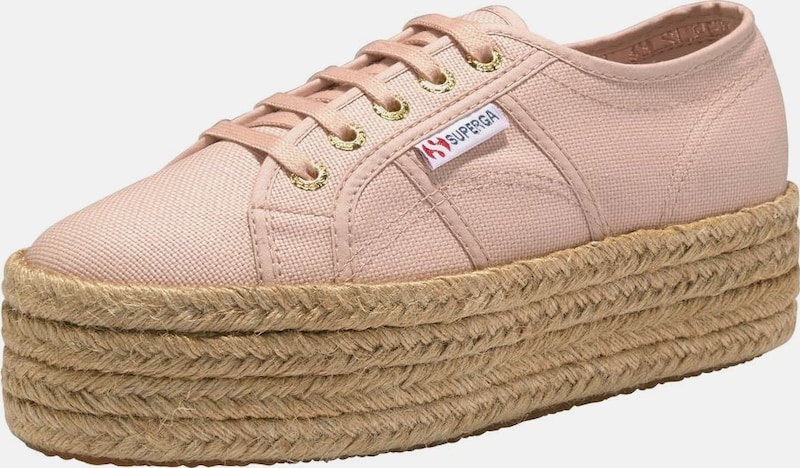SUPERGA Sneaker '2790 Cotropew' in puder: Frontalansicht