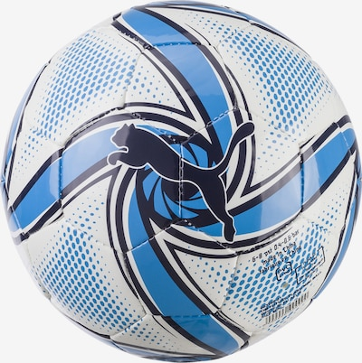 PUMA Ball 'Olympique de Marseille FUTURE Flare Mini' in himmelblau / weiß, Produktansicht