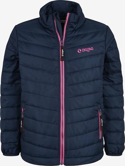 ZigZag Jacke 'Gisborne' in navy / pink, Produktansicht