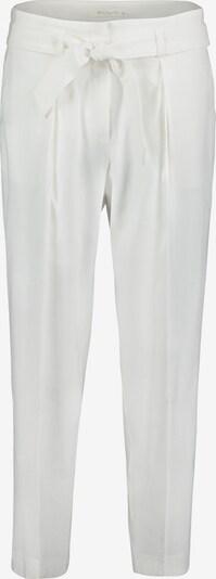 Betty & Co Stoffhose mit Bindegürtel in weiß, Produktansicht