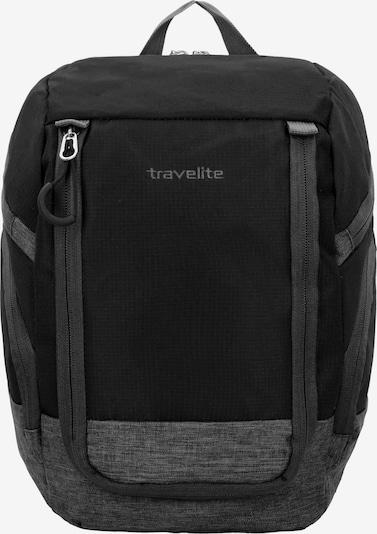 TRAVELITE Rucksack 'Basics' in graumeliert / schwarz, Produktansicht