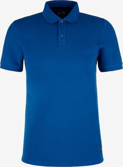 Q/S designed by Poloshirt in blau, Produktansicht