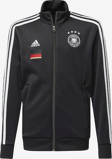 ADIDAS PERFORMANCE Trainingsjacke 'DFB 3-Streifen' in gelb / rot / schwarz / weiß, Produktansicht