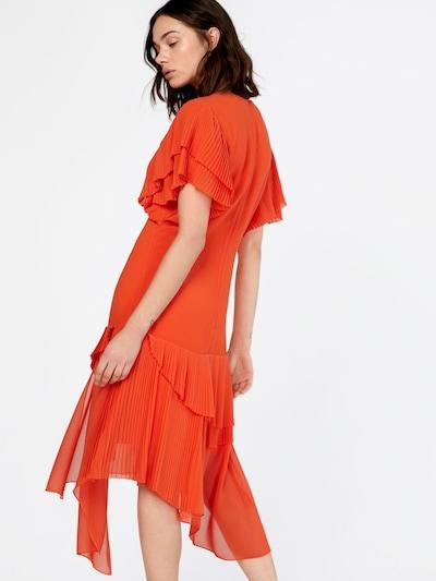 POSTYR Kleid in dunkelorange: Rückansicht