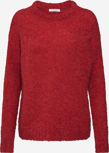 PIECES Pullover in rot, Produktansicht
