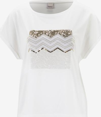heine Shirt in silber / offwhite, Produktansicht