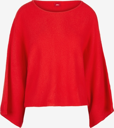 s.Oliver Poncho in rot, Produktansicht