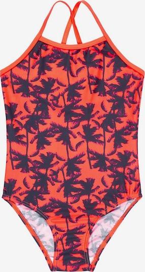 NAME IT Badeanzug in navy / orangerot, Produktansicht