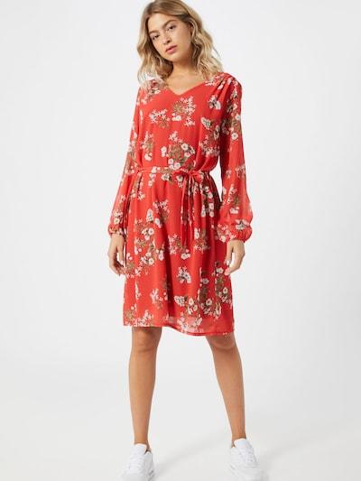 ZABAIONE Kleid 'Sonja' in orangerot, Modelansicht