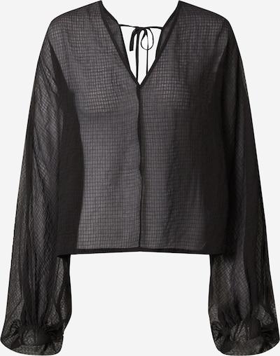 EDITED Bluse 'Fine' in schwarz, Produktansicht
