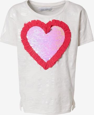 Desigual T-Shirt in Weiß