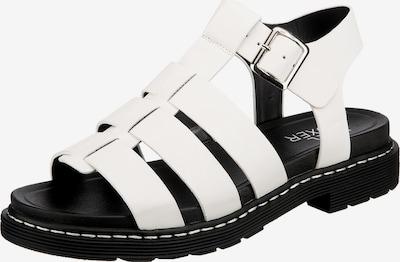 BULLBOXER Klassische Sandalen in weiß, Produktansicht