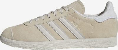 ADIDAS ORIGINALS Sneaker 'Gazelle' in beige / weiß, Produktansicht