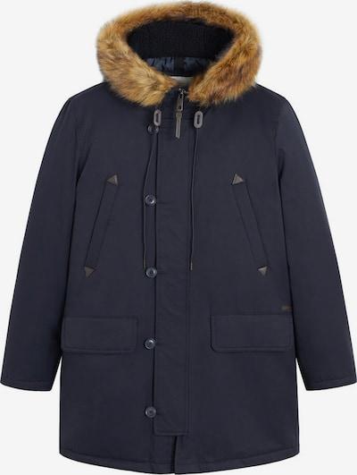 MANGO MAN Winterparka in de kleur Navy, Productweergave