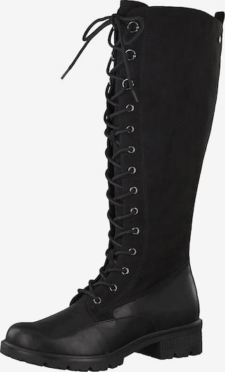 TAMARIS Schnürstiefel in schwarz, Produktansicht