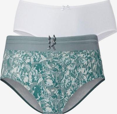 PETITE FLEUR Slip in grau / grün / weiß, Produktansicht