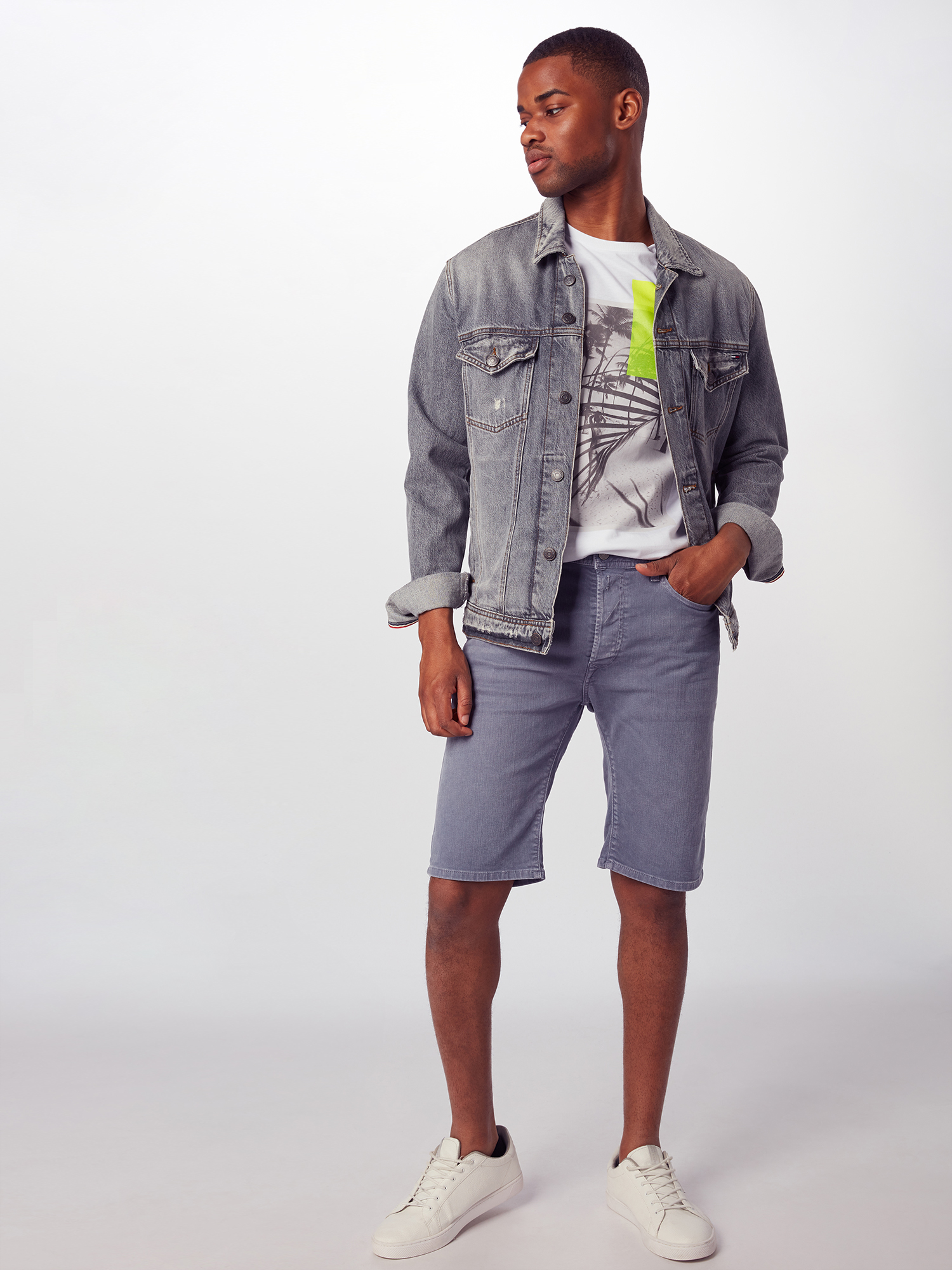 REPLAY Jeans 'RBJ.901.Shorts' in Blauw denim f8JmSMLE