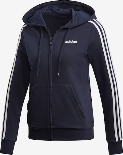 ADIDAS PERFORMANCE Sweatjacke 'Essentials Linear' in dunkelblau, Produktansicht