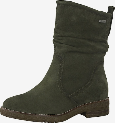BE NATURAL Stiefelette in khaki, Produktansicht
