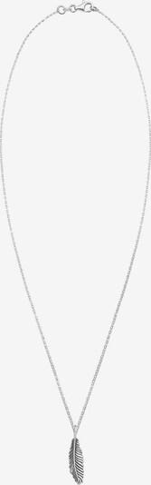 PAULO FANELLO Halskette 'Feder' in silber, Produktansicht