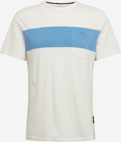 Dockers T-Shirt en bleu clair / corail / blanc, Vue avec produit