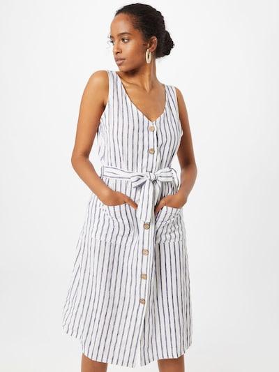 ZABAIONE Letní šaty 'Sara' - tmavě modrá / bílá, Model/ka