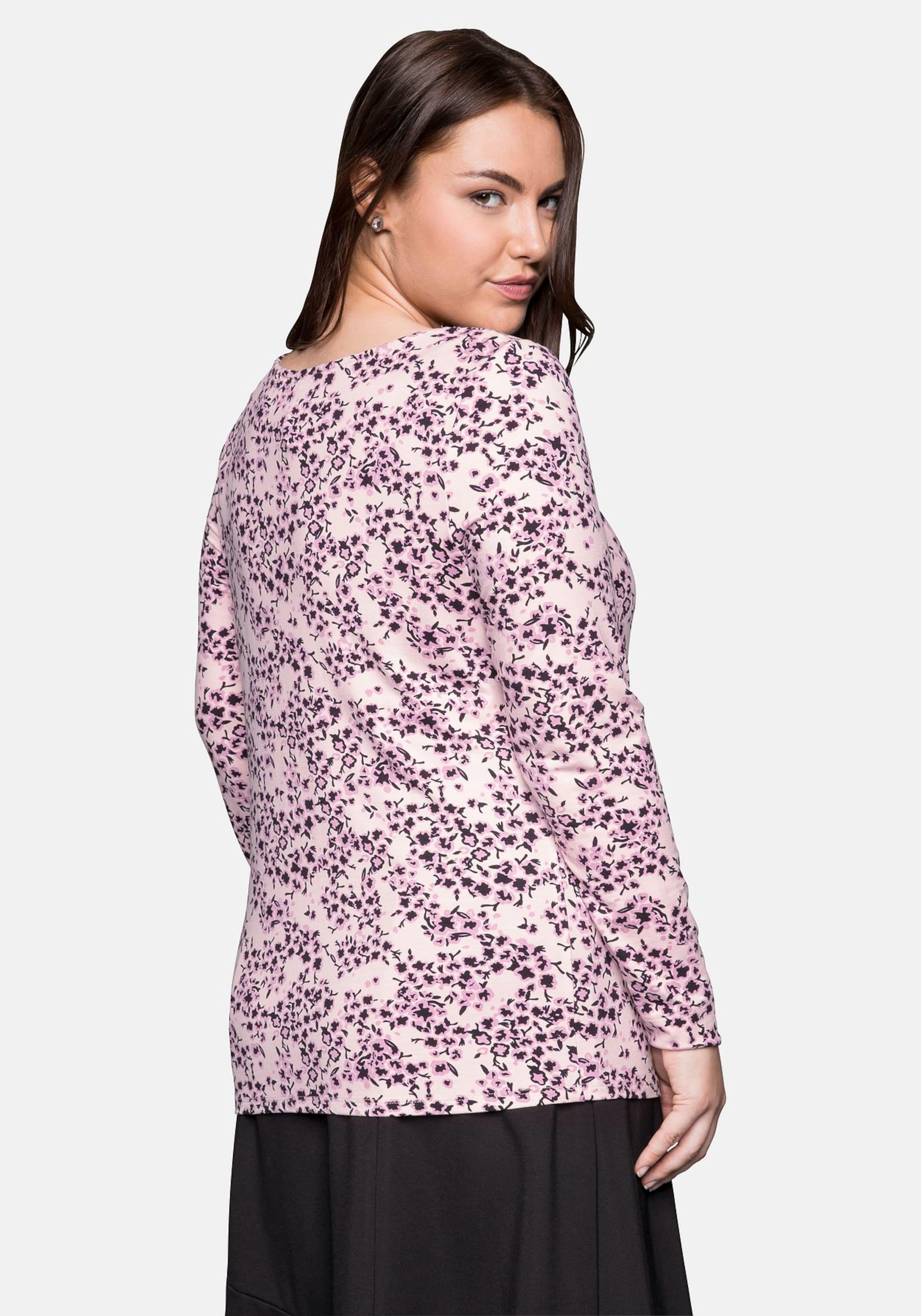 Sheego Shirt In In Sheego Shirt HellpinkSchwarz tdBhxosQrC