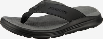 SKECHERS T-Bar Sandals 'Sargo Sunview' in Black