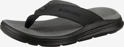 SKECHERS Zehentrenner 'Sargo Sunview' in schwarz, Produktansicht