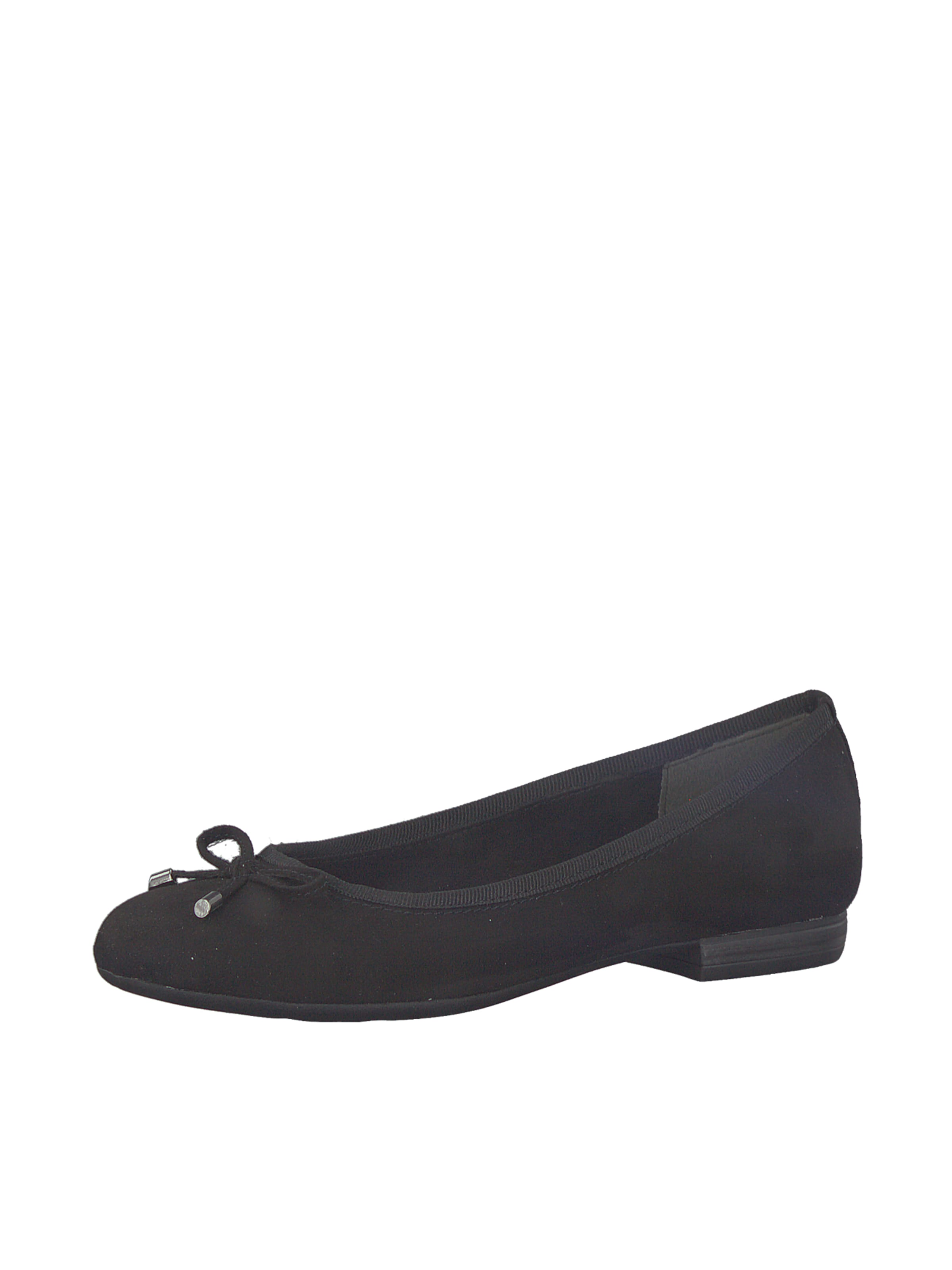 MARCO TOZZI Ballerinas in schwarz