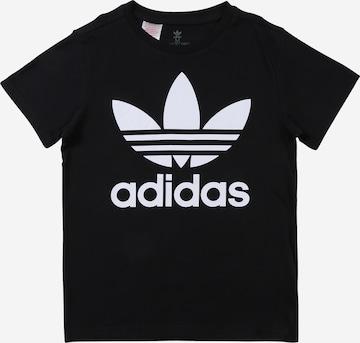 T-Shirt 'Trefoil' ADIDAS ORIGINALS en noir