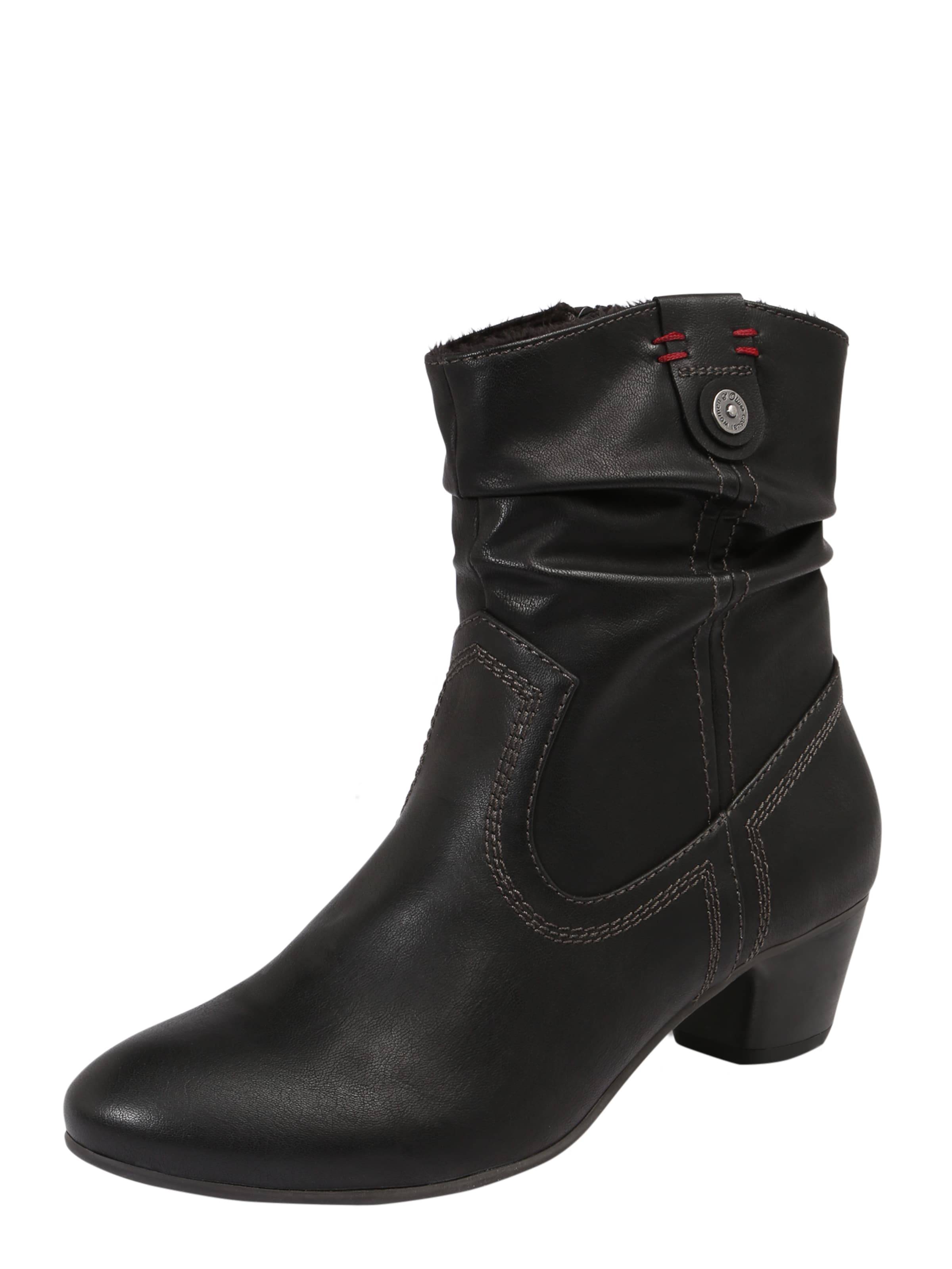 s.Oliver RED LABEL | Stiefelette 'Cowboy' Schuhe Gut getragene getragene getragene Schuhe b963ec