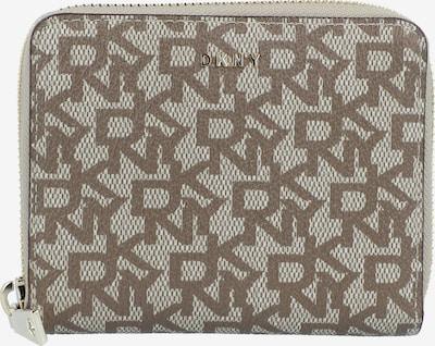 DKNY Portemonnaie 'BRYANT-SM ZIP AROUND-LOGO' in brokat / offwhite, Produktansicht