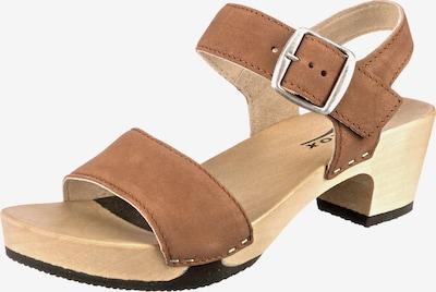 SOFTCLOX Sandaletten 'Kea' in braun, Produktansicht