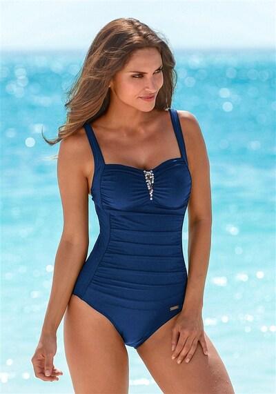 LASCANA Shaping-badpak in de kleur Blauw, Modelweergave