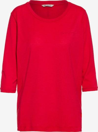 VAUDE Funktionsshirt 'Skomer' in rot, Produktansicht