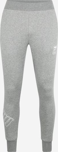 PUMA Sportbroek 'Rebel' in de kleur Grijs / Wit, Productweergave