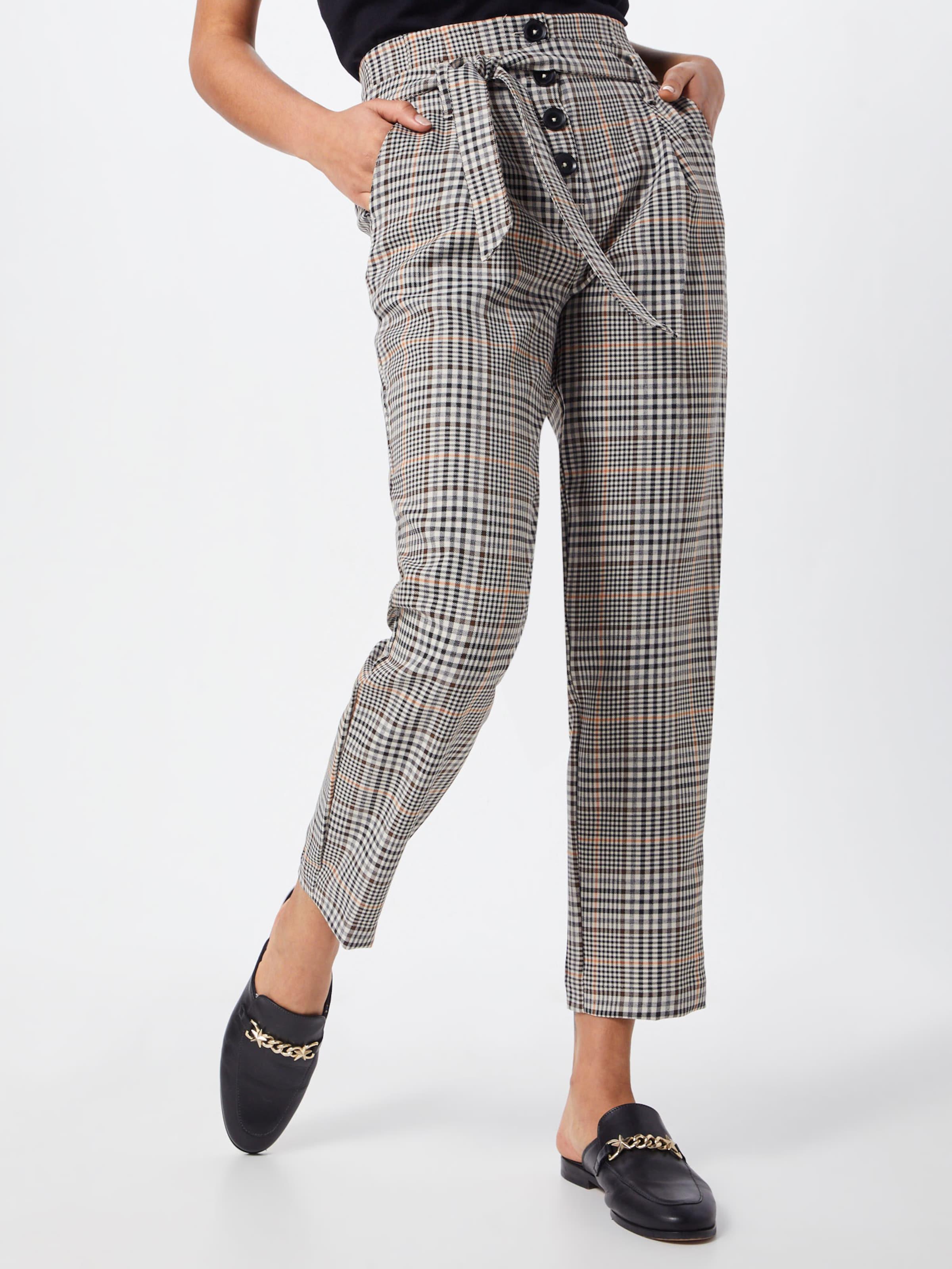 En Pince New Pantalon À Marron Look 54jqRcS3LA