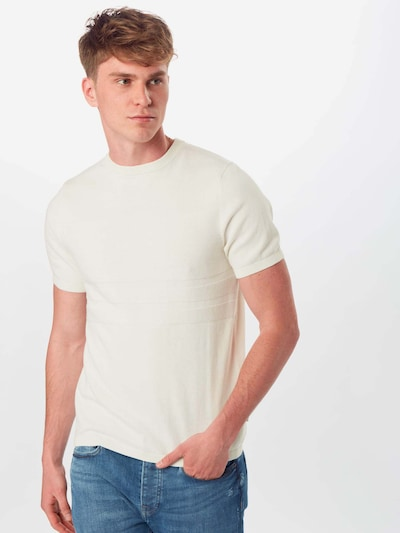 BURTON MENSWEAR LONDON Tričko - bílá: Pohled zepředu
