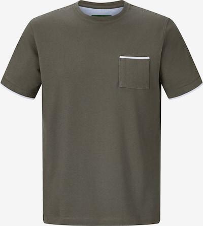 Charles Colby T-shirt ' Errol ' in khaki, Produktansicht