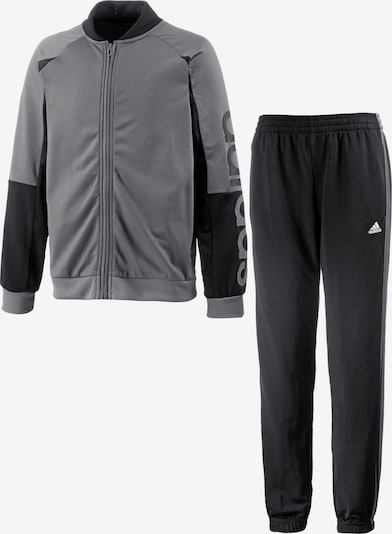ADIDAS PERFORMANCE Trainingsanzug in grau / schwarz, Produktansicht
